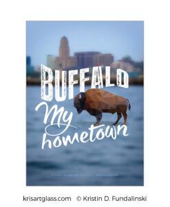 Fundalinski - BuffaloMy hometown - 5x7