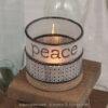 Fundalinski - Wine Candle Holders - Peace