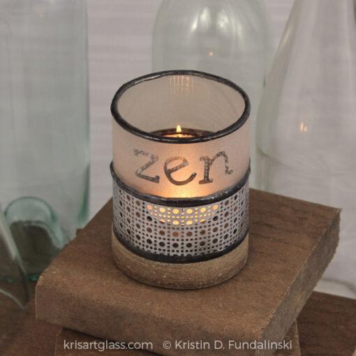 Fundalinski - Wine Candle Holder -
