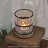 Fundalinski - Wine Candle Holder - hope