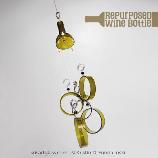 KFundalinski - Wine Chime - Antique Green